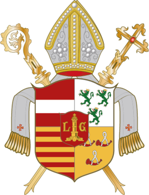 1590s in the Southern Netherlands - Image: Wappen Bistum Lüttich