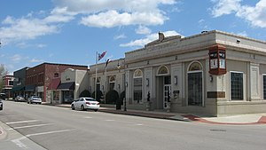 Caruthersville, Missouri - Ward Street downtown