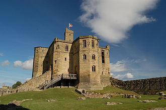 Henry Percy, 2nd Earl of Northumberland - Warkworth Castle in Northumberland was the main residence of the Percy family.