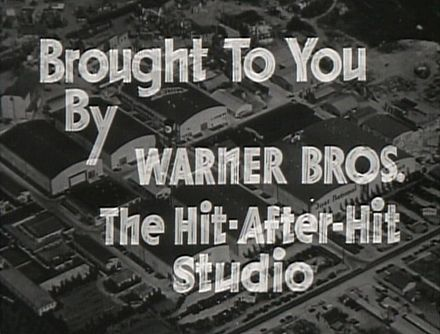 The studio as depicted in the trailer for The Petrified Forest (1936)