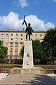Warrior of the Hungarian Red Army - statue in Újpest.JPG