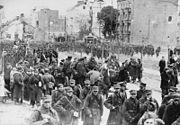 Warsaw 1939 Polish POWs