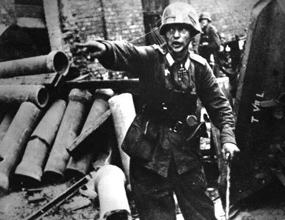 Warsaw Uprising - Wehrmacht Officer