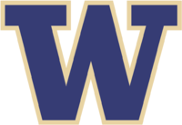 Washington Huskies men's basketball athletic logo