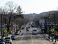 Washington Street south of Forest Hills, March 2016.JPG