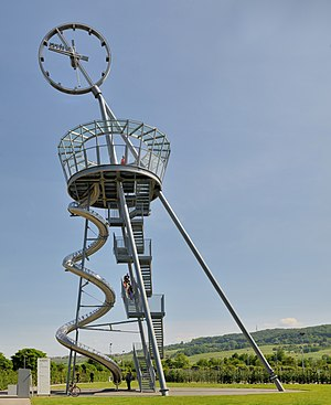 Vitra Slide Tower in Weil am Rhein, Germany