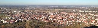 Weilheim an der Teck - Panorama of the town