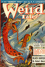 Weird Tales cover image for September 1943