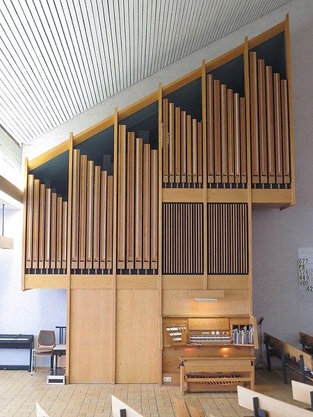 Datei:Wendlingen (Neckar), Johanneskirche, Orgel (4).jpg