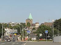 Werden, zicht op stadsdeel vanaf de brug over de Ruhr foto62012-08-19 16.51.jpg