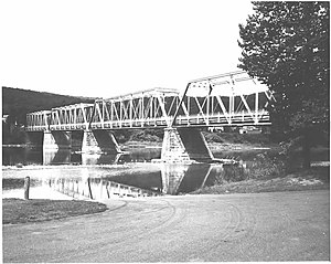 National Register of Historic Places listings in Forest County, Pennsylvania - Image: West Hickory Bridge