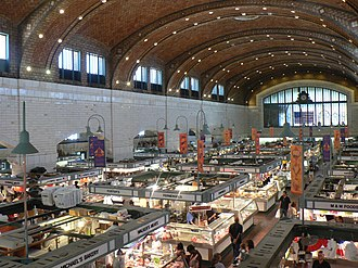 West Side Market - Interior of the market