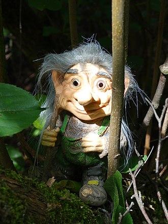 Gnome - Westend-Gnome in Hof, Bavaria