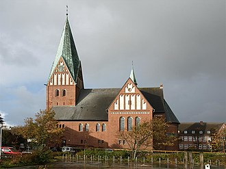 Westerland, Germany - St. Nicolai church