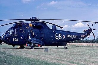 706 Naval Air Squadron - A Westland Sea King HAS.2 of 706 NAS at RNAS Culdrose