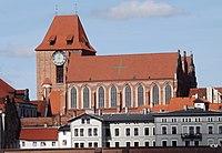 Widok kościóła św. Janów w Toruniu, ulica Żeglarska.Widok z platformy widokowej - panoramio.jpg