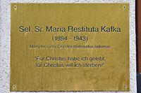 Wien18 WähringerGürtel077 0002 2017-05-20 GuentherZ GD Maria Restituta Kafka.jpg