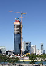 Wien - Donaucity, DC Towers (2)