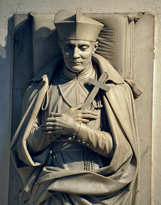 Clement Mary Hofbauer - Hofbauer's tombstone in the Church of Maria am Gestade, Vienna, Austria