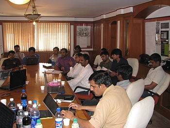 WikiMeetupBlore13 Apr2010 9695.jpg