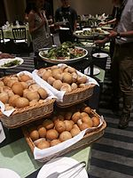 Wikimania 2015-Thursday-Food for hungry Hackathon people (16).jpg