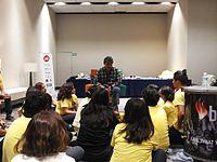 Wikimania 2015-Wednesday-Volunteers at Wikimania (9).jpg