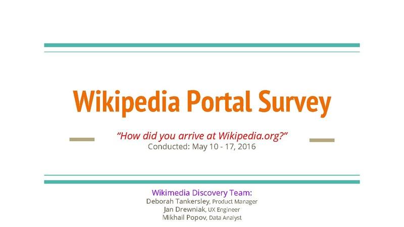 File:Wikipedia Portal Survey - May 2016.pdf