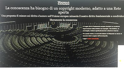 Wikipedia in italiano oscurata.jpg