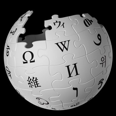Няйф:Wikipedia logo puzzle globe spins horizontally and vertically, revealing the contents of all of its puzzle pieces (4K resolution) (VP9).webm