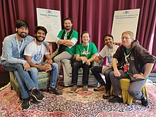 Wikisource meetup at WikidataCon 2019 04.jpg