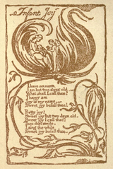 a comparison of infant joy and infant sorrow by william blake Summary of infant joy the poem infant joy is pair with the poem infant sorrow this comes from the first line when blake says i have no name.