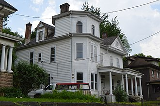 National Register of Historic Places listings in Braxton County, West Virginia - Image: William Edgar Haymond House