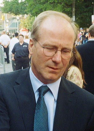 William Hurt - Hurt signing autographs at the 2005 Toronto International Film Festival