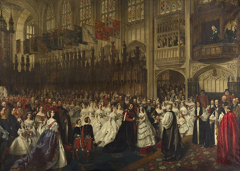 File:William Powell Frith - The Marriage of the Prince of Wales, 10 March 1863.JPG