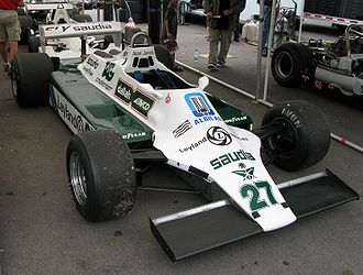 Williams FW07 - Image: Williams FW07 Mont Tremblant