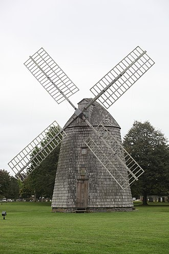 Water Mill (Water Mill, New York) - Image: Windmill at Water Mill, NRHP 78001919
