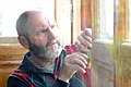 Winfried Pape Arbeit am Vorbau-Projekt Pörtschach 10. Oktoberstrasse 67 28102009 22.jpg