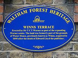 Winns terrace erected by sir t c t warner