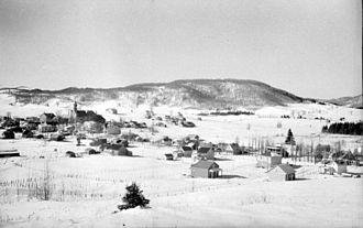Saint-Sauveur, Quebec - Image: Winter. St Sauveur B An Q Vieux Montréal P48S1P08597