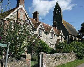 Witham Friary village in the United Kingdom