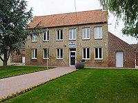Witternesse (Pas-de-Calais) mairie.JPG