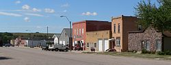 Downtown Wolbach: Center Street