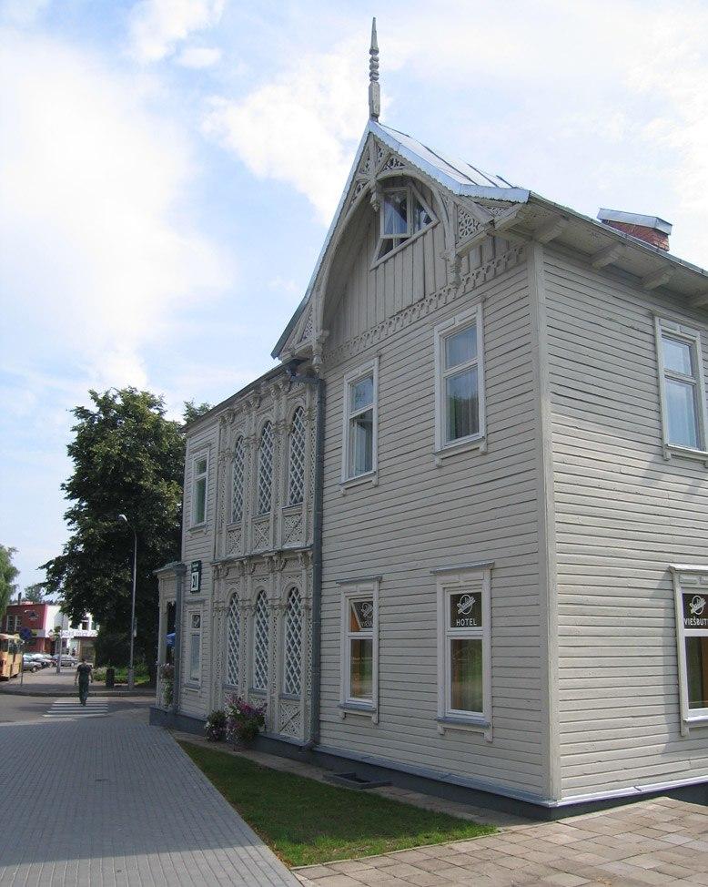 Wooden house in Druskininkai 001