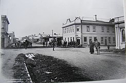 Woodville, New Zealand Main Street 1890s.jpg