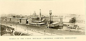 Union Metallic Cartridge Company - Image: Works of the Union Metallic Cartridge Company, Bridgeport