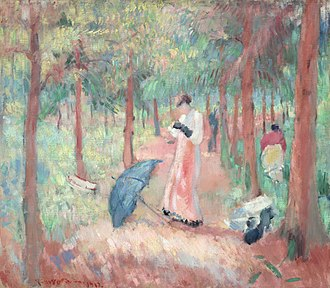 The Phoebus Foundation - Rik Wouters 'The pink avenue' from the collection of the Phoebus Foundation
