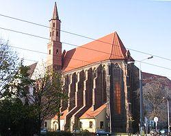 Wroclaw kosciol swWincentego
