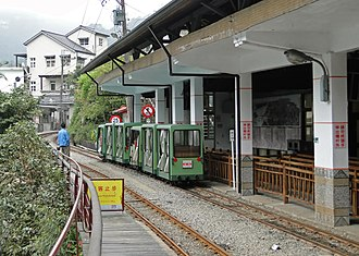 Wulai District - Wulai Scenic Train