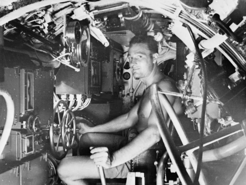 X craft crewman WWII IWM A 30568
