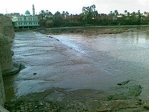 Khanaqin - Alwand river and bridge
